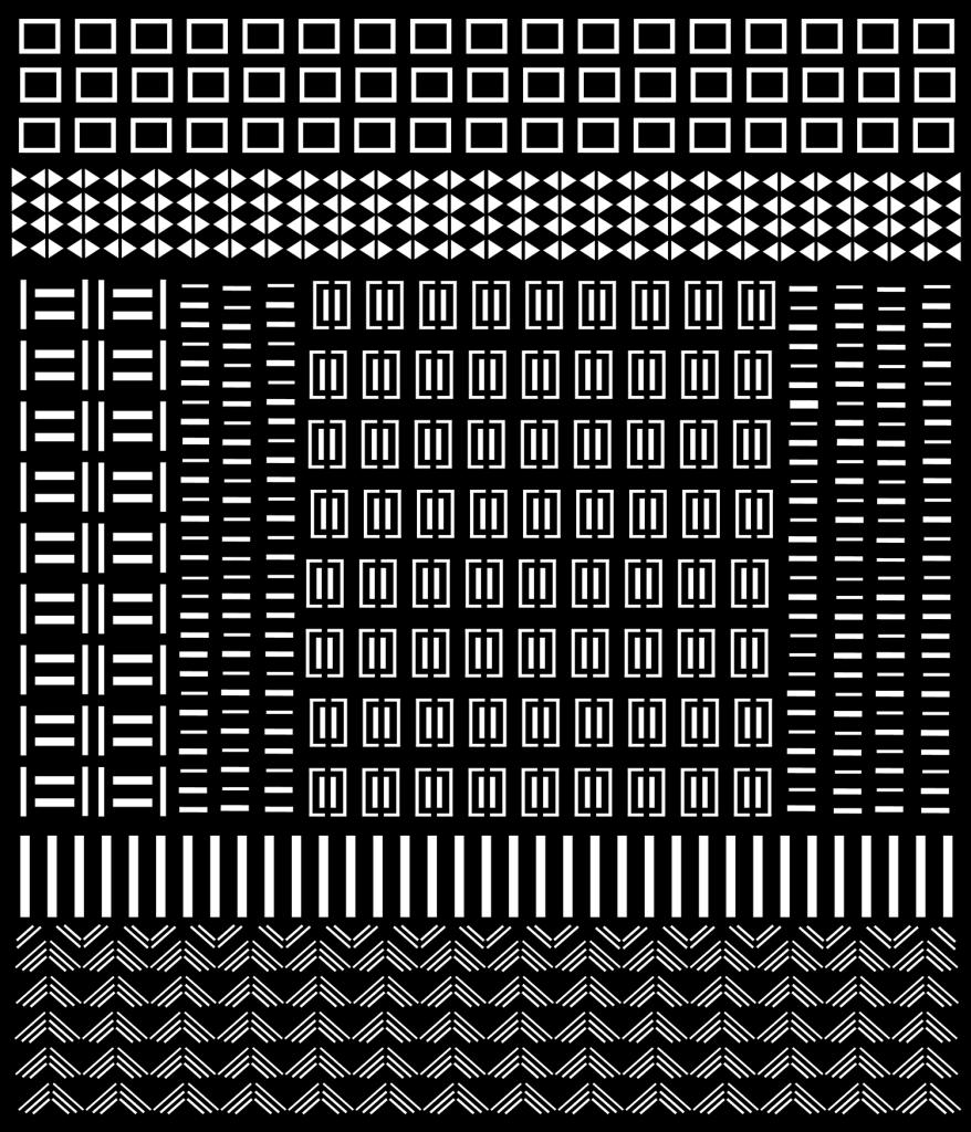 vector bogolan design