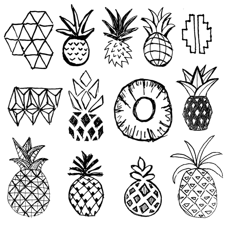 pinapplesketches