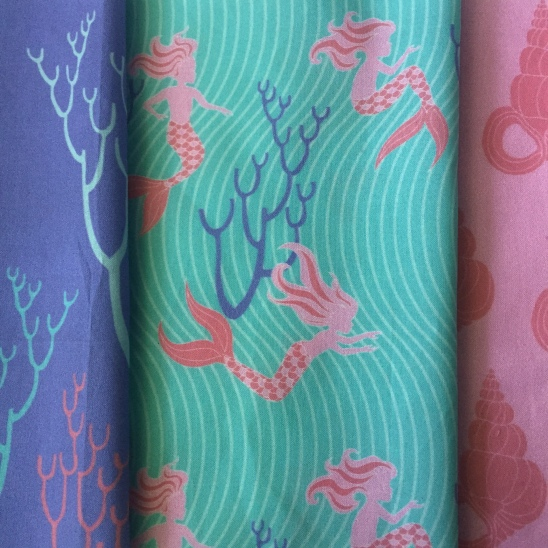 mermaid paradise fabric